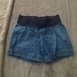 3 for $20. Maternity jean shorts.